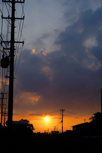 Sunset Sky Cloud - Sky No People Low Angle View Beauty In Nature EyeEm Best Shots EyeEm Japan Japan Photography Sunset #sun #clouds #skylovers #sky #nature #beautifulinnature #naturalbeauty #photography #landscape Orange Color Sunsetlover Sunset_collection Sony A6000 Sunlight Sunrise_sunsets_aroundworld Sunset And Clouds  Sunset View. 夕日 優しい気持ち 夕日に癒される