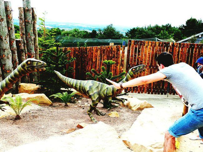 I see you! Jurassic Park Dinosaur Silly Bigkids Zoo Family Fun Sad