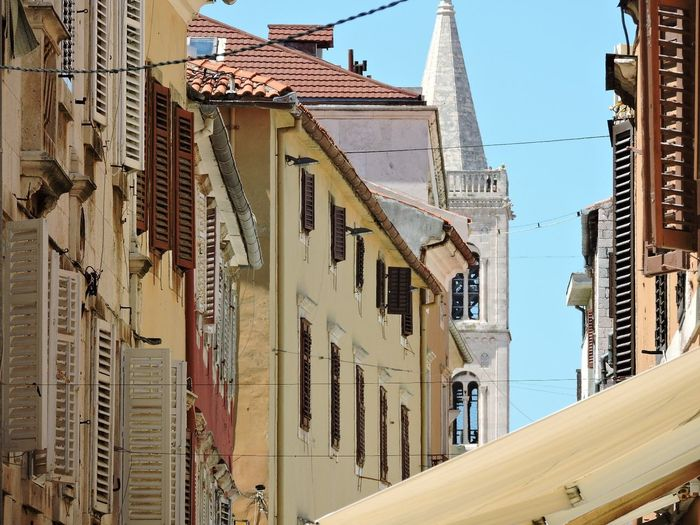 Building Exterior Architecture City Built Structure Travel Destinations Outdoors Sky Houses And Windows Church Zadar Zadar,Croatia Zadar Check This Out Enjoying Life , EyeEm Best Shots EyeEm Gallery Streetphotography Eye For Photography