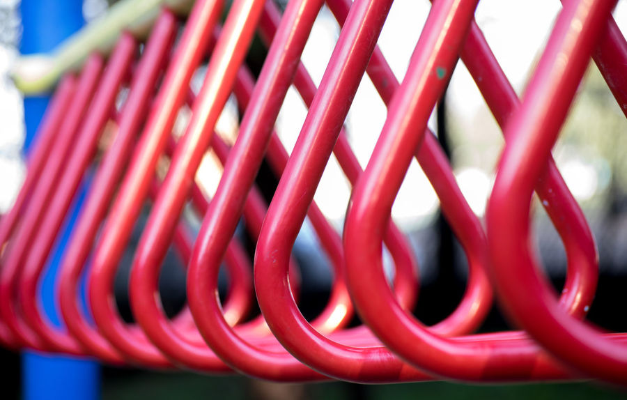Child Playground Close-up Complexity Focus On Foreground Man Made Object Metal No People Playground Red Spiral