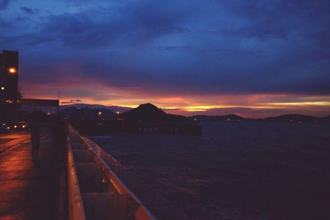 Life HongKong Pocket Camera Fujifilm_xseries Fujifilm Lovers Fujifilm X70 Sunset Saiwan Sea Sea And Sky