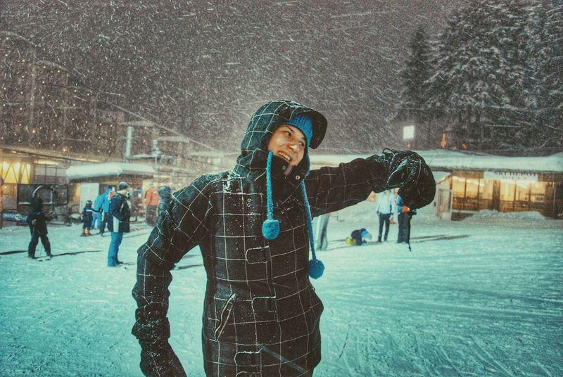 Uniqueness Winter Love Smile Cold Winter ❄⛄ Nature Joyful Moments Mountain Snow Mountain
