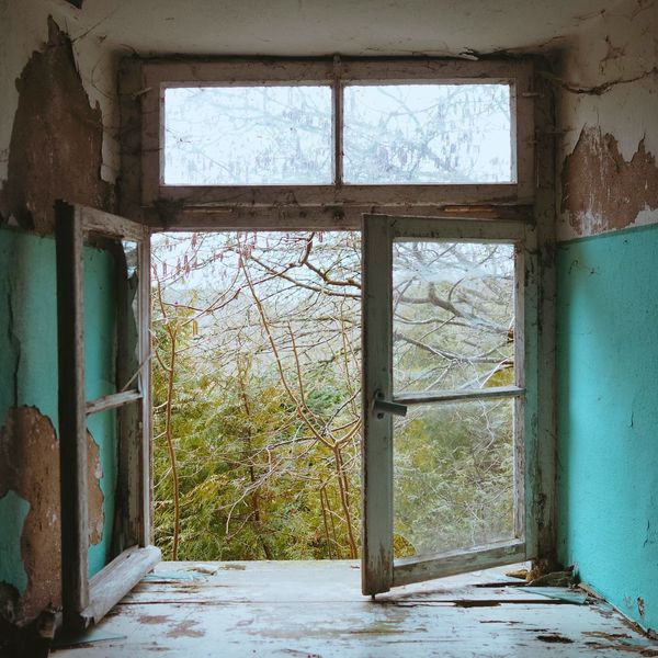 View Through The Window View Urbex Lostplaces Window Architecture House Door Indoors  Abandoned Built Structure No People