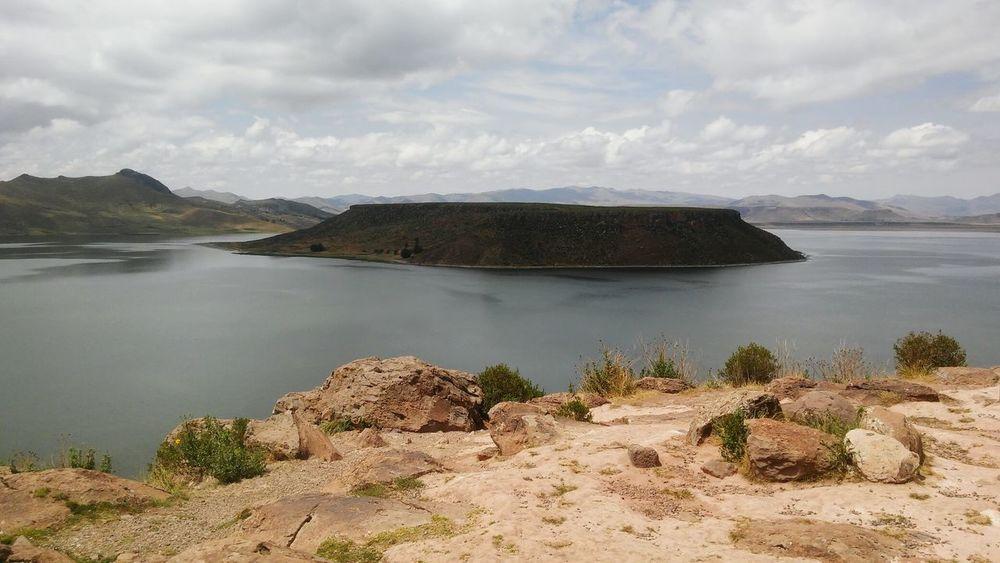 Lake Landscape Cultures Puno, Perú Outdoors Sillustani Magic