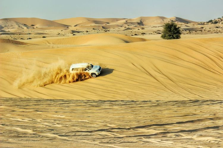 Sand Desert Nature Outdoors Sand Dune Beauty In Nature Clear Sky The Great Outdoors - 2017 EyeEm Awards The Photojournalist - 2017 EyeEm Awards