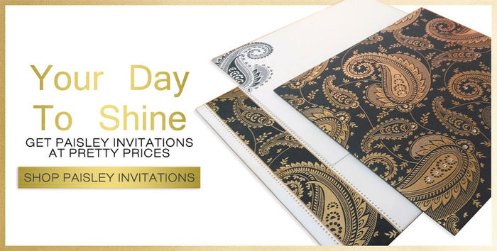Shop the wide variety of paisley theme wedding invitations at 123WeddingCards & elevate your wedding ceremony with exclusive designs of paisley invitations. https://www.123weddingcards.com/paisley-pattern-wedding-invitations 123WeddingCards Paisley Invitations Paisley Invites Wedding Cards Paisley Pattern Wedding Invitations, Paisley Theme Wedding Invitations Paisley Wedding Cards Wedding Invitations