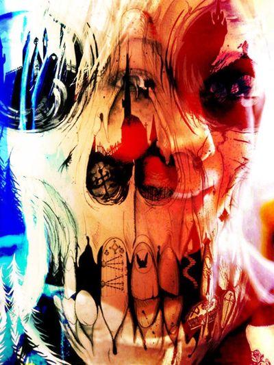 Double Exposure Full Frame Edited Eye Em Best Edits Popular Photos EyeEmBestEdits DOPE ZEF Skull