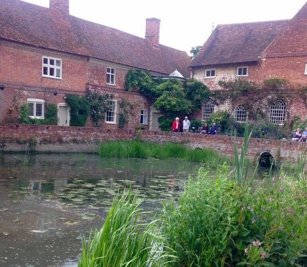 Flatford Mill Suffolk, United Kingdom Old Buildings Mill Pond