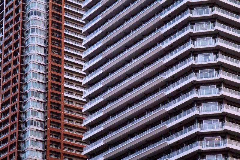 Taking Photos Highrise Apartment Building