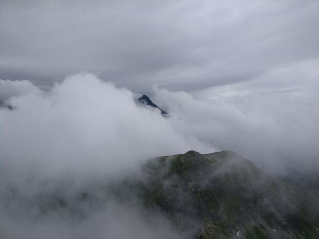 Fog Outdoors Day Mountain Landscape High Angle View Cloud - Sky No People Adventure Nature Sky Mysterious Mystical Atmosphere Obscured View Clouds Tatra Mountains