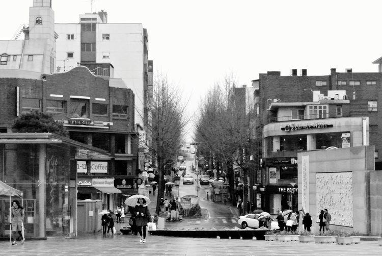 Traveling Streetphotography 首爾 Seoul 서울 Black And White