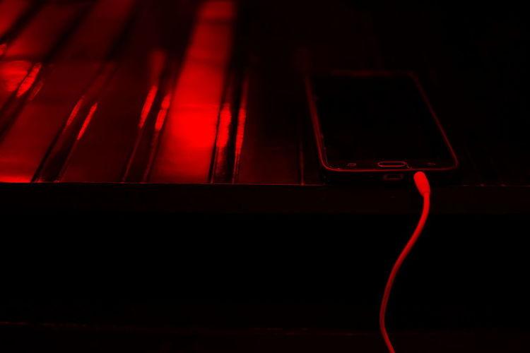 Fooling around 😁 InMakin! Randomness Phone Earphones Wire Mobile Phone Nikon Red No People