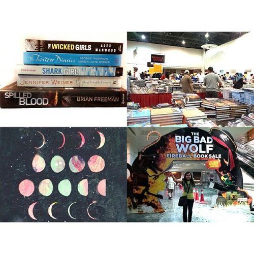 160214 - The Big Bad Wolf Fireball Booksale 2014 BigBadWolf // (( serigala besar jahat hehe ))