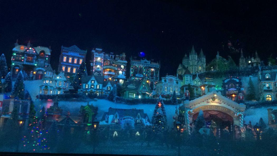 Christmas Architecture Celebration Christmas Christmas Lights City Illuminated M Night