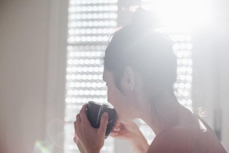 Portrait of man using mobile phone