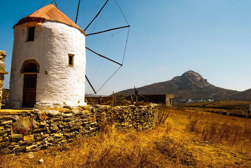 GREECE ♥♥ Tinos Greek Island Tinos Greece Architecture Greece Greece Islands Mountain Nature Outdoors Windmill