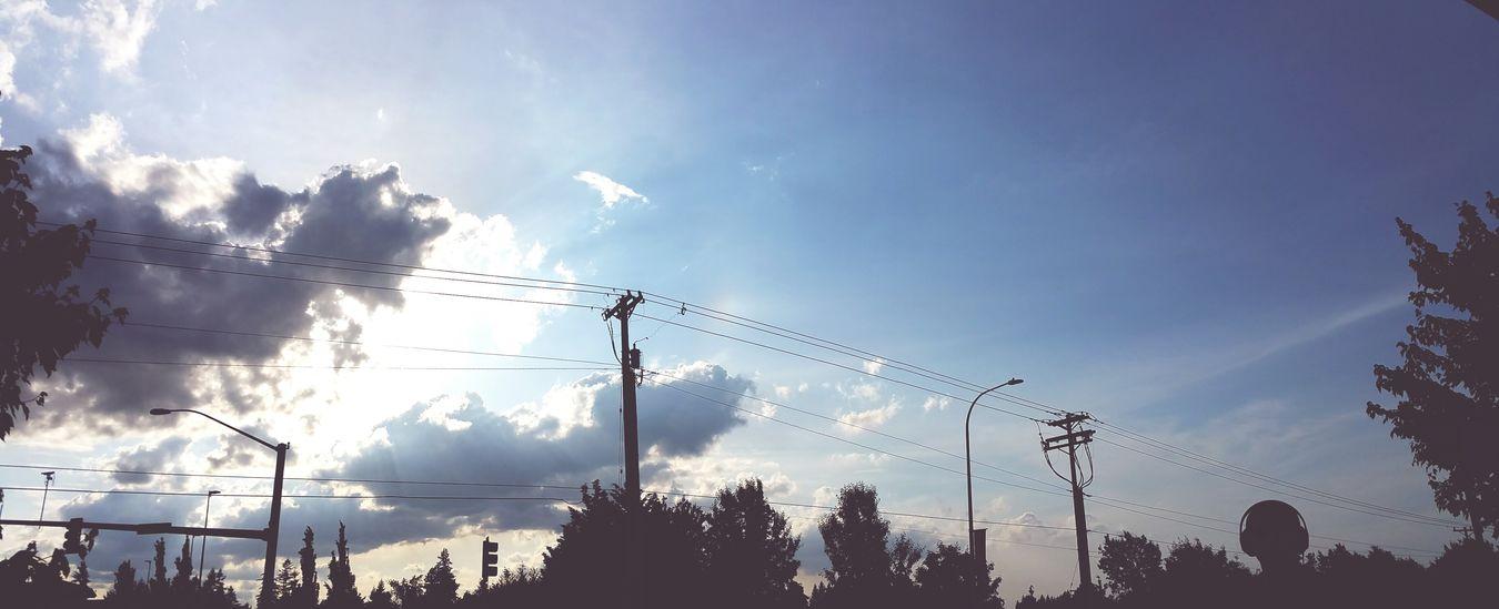 Clouds And Sky Sunshine
