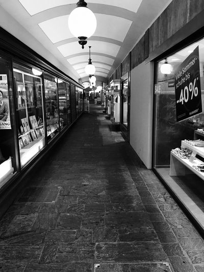 Tunnel View Germany🇩🇪 Graz Shopping Arcade Black & White Streetphotography Travel Destinations Outdoors No People No Filter