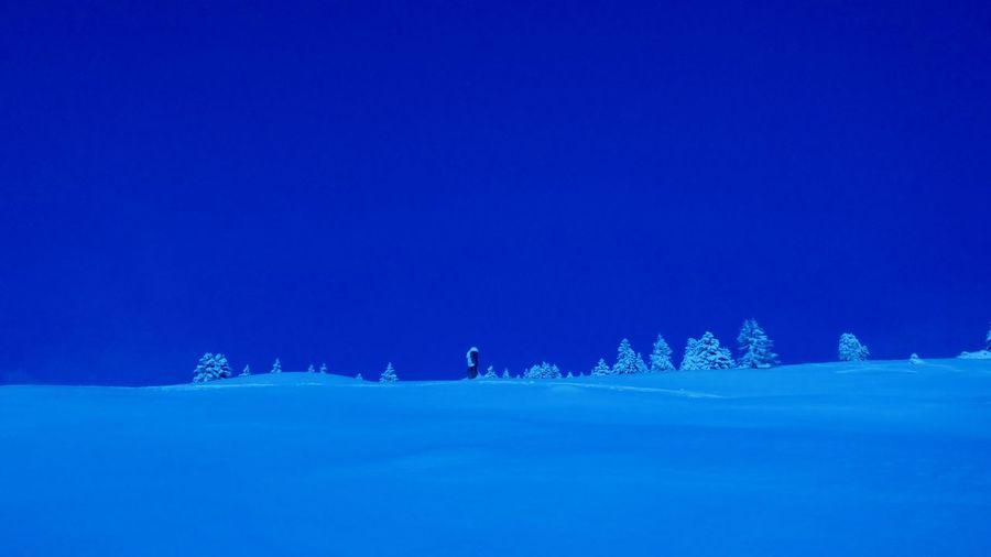 Copy Space Snow
