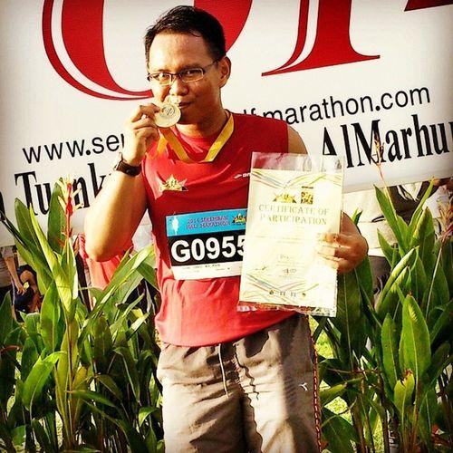 Kisahpagitadi Kalipertama Dapatgakmedal Halfmarathon poyo