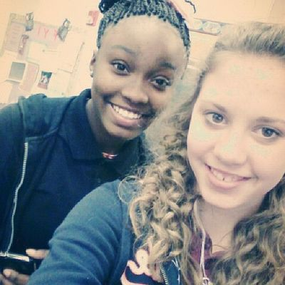 Desirea & I Earlier! ♥ This Crazy Chick Cool Basketball BasketballGirls4Life Bball BasketballGirls BasketBALL