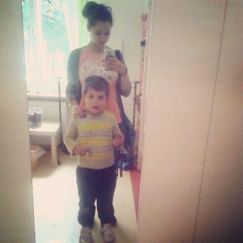 Selfie в детската градина хих ♥