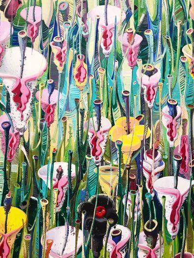 Flowers | Art Miami Miami Art Miamiperez Flores Flowers Painting