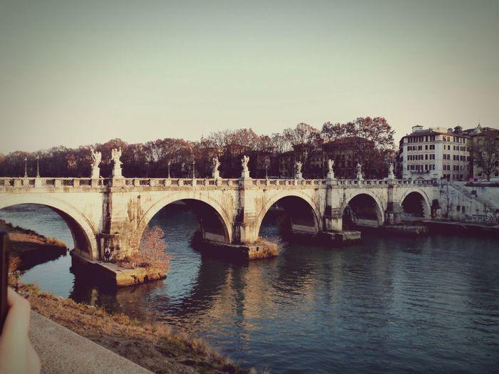 Bridge Streetphotography Old Ponte San'angelo Rome