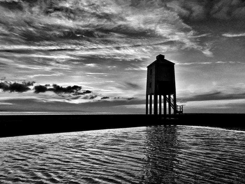 Darkest Hour... Lighthouse Tower Lighthouse Lighthouse_lovers Beach Beachphotography Beach Photography Beach Life Beachlife Sunset Sunset Silhouettes Sunset_collection Sunsets Burnham Burnhamonsealighthouse Burnham On Sea