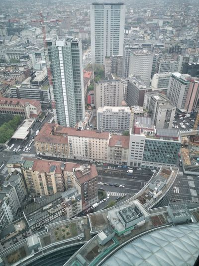 Panorama Milano Milan Italy City Cityscape Urban Skyline Architecture Lombardy City Cityscape Skyscraper Modern Aerial View Water Urban Skyline High Angle View Architecture Building Exterior Urban Scene Office Building Skyline Financial District  Infrastructure Tall - High High Street Tall