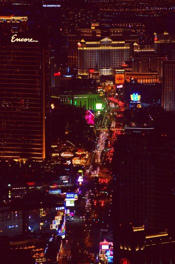 Night Illuminated City Nightlife City Life Las Vegas EyeEmNewHere