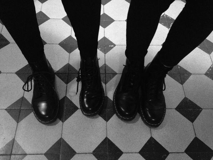 Blackandwhite Monochrome Shoes Dr Martens
