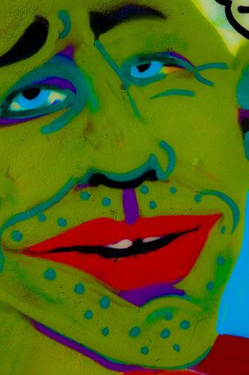 Graffiti Art Face Efimero Ephemeral