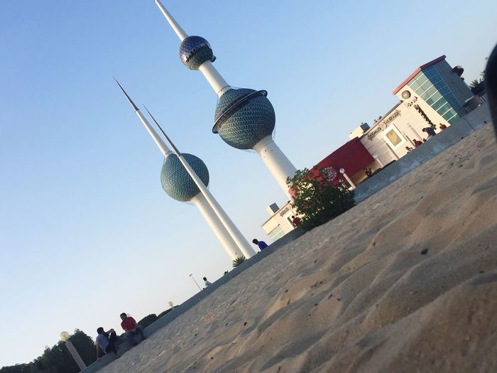 Kuwait Towers Kuwait City Architecture