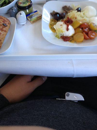 Mozzarella Tomato Maracujá Airplane