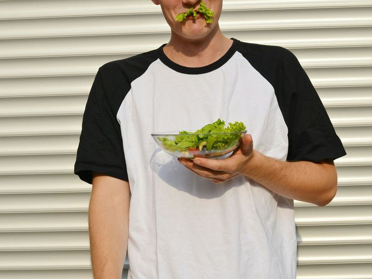 Find a herbivore inside ya Vegan Eat Eat And Eat Hello World Food Photography Interaction Salad