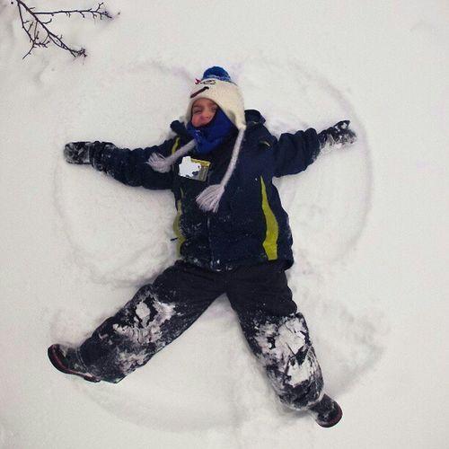 Snowangel in Ottawa