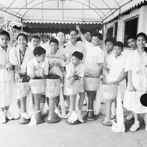 Im teacher Teacher Student คณะกลองยาว Music Is My Life Thai Instruments