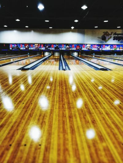 Bowling Alley(: Stadium Illuminated Sport Competition Lighting Equipment Architecture