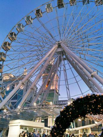 Arts Culture And Entertainment Amusement Park Ferris Wheel Amusement Park Ride Outdoors No People Sky