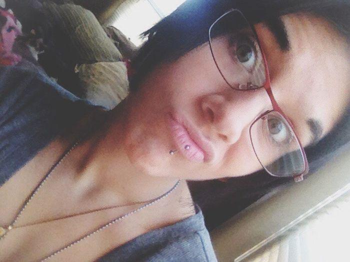ThatsMe Self Portrait Selfie Random Black Funny Faces Duck Face Bored New Glasses