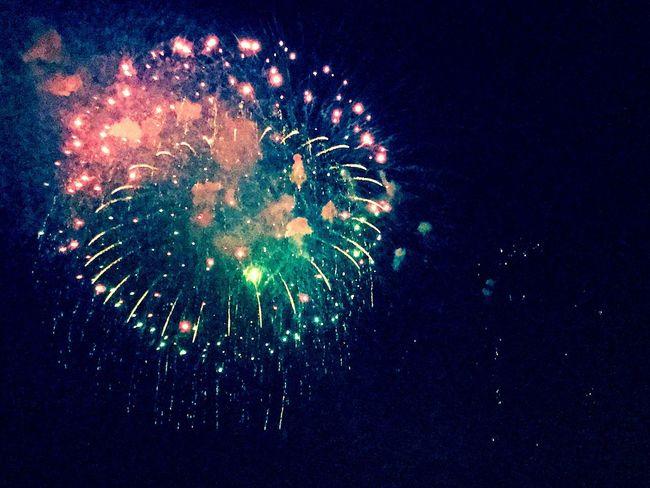 花火 はなび Fireworks Sky Night 煙火