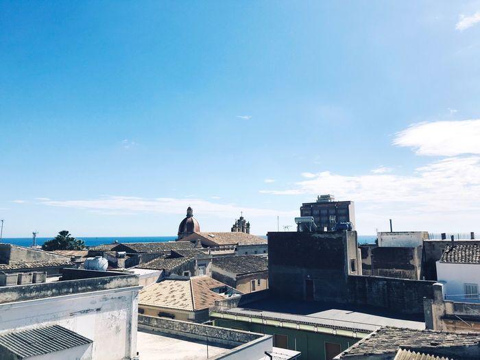 Sicily Day Sky