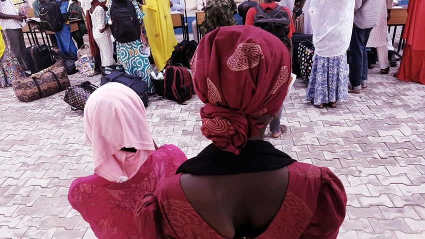 Traditional Clothing Headwear School Day Lifestyles Cellphone Photography Women Around The World Women Of Africa Africa Day To Day Northern Nigeria Nigeria Celebration Event