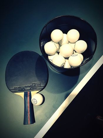 Ping Pong 🏓 Good Fun Sporty Ping Pong EyeEm Selects Bowl Indoors  Table No People Directly Above Close-up