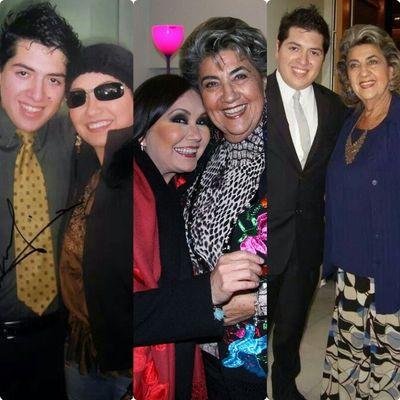 @anagabrieloficial con LaVozDeChile @anagabrieloficial con @CotyReginato Y LaVozDeChile con @CotyReginato