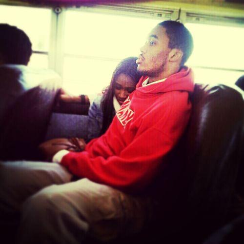 Us Yesterday.. ♥ I Was Asleep