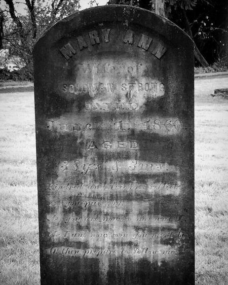Tombstone Text Cemetery Memorial Outdoors Gravestone Graveyard Tree Close-up Creepy Halloween