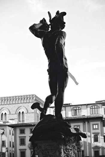 Florence Perseu Statue Blackandwhite Silhuette EyeEm Best Shots The Traveler - 2015 EyeEm Awards Italy