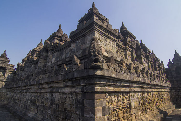 Relief Of Borobudur Temple , Candi Borobudur Architecture Tourism History Travel Destinations Travel Ancient Architecture No People Candi Temple Magelang INDONESIA
